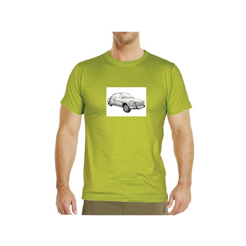 084705c6c995 Autorské originál pánské tričko s motivem MBéčka (Metelková)