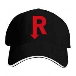 Kšiltovka s potiskem R červené